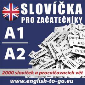 Angličtina - slovíčka pro začátečníky